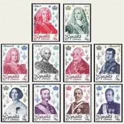 1978 Sellos de España (2496/05). Reyes de la Casa de Borbón.