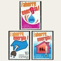 1979 Sellos de España (2508/10). Ahorro de Energía.
