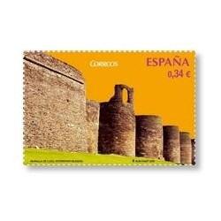 2010 Sellos de España (4592). Patrimonio Mundial. Muralla de Lugo.