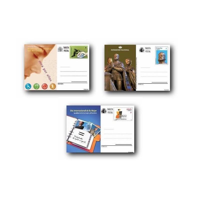 2011 España. Tarjetas Entero Postales - Emisiones del año **