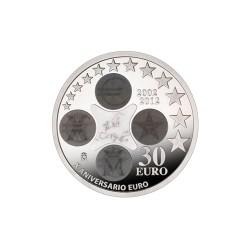 2012 Moneda conmemorativa 30 euros.
