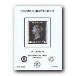2012 Hoja Homenaje Filatelico (nº 8)