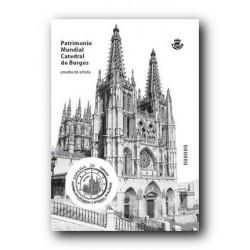2012 Prueba del Artista. Catedral de Burgos.