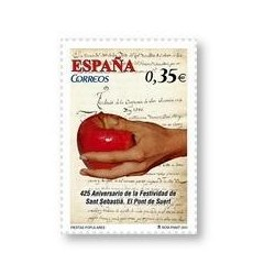 Sellos de España 2011. Fiestas Populares. Sant Sebastià. **