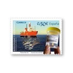 Sellos de España 2011. Biodiversidad y Oceanografía. **