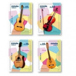 Sellos de España 2011. Instrumentos Musicales. **