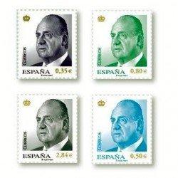 2011 Sellos de España (4633/36). S.M. D. Juan Carlos I.