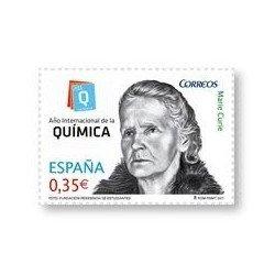 Sellos de España 2011. Año Internacional de la Química. **
