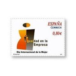 Sellos de España 2011. Día Internacional de la Mujer. **