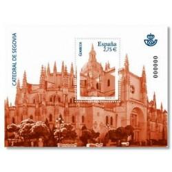 2010 Sellos de España (4580). Catedral de Segovia.