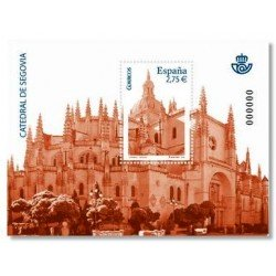 Sellos de España 2010. Catedral de Segovia. **