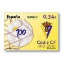 Sellos de España 2010. Centenrio del Cádiz F.C. **