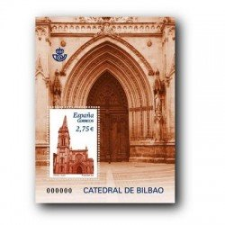 Sellos de España 2010. Catedral de Bilbao. **