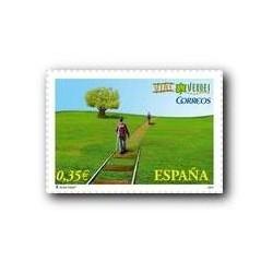Sellos de España 2011. Vias Verdes. **