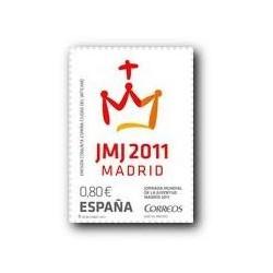Sellos de España 2011. Jornada Mundial de la Juventud. **