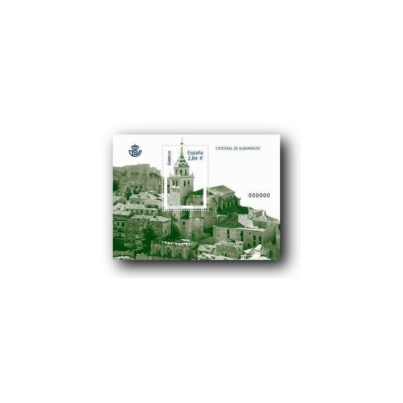 Sellos de España 2011. Catedral de Albarracin. **