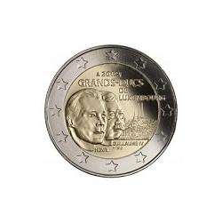 Moneda 2 euros conmemorativa. Luxemburgo 2012