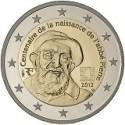 Moneda 2 euros conmemorativa. Francia 2012