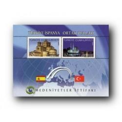 2010 Turquia. Emisión conjunta con España. Alianza de Civilizaciones.**