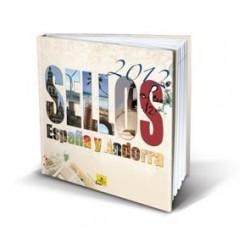Álbum de sellos Correos España y Andorra 2012