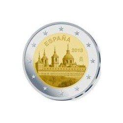 Moneda 2 euros conmemorativa. España 2013 Monasterio del Escorial
