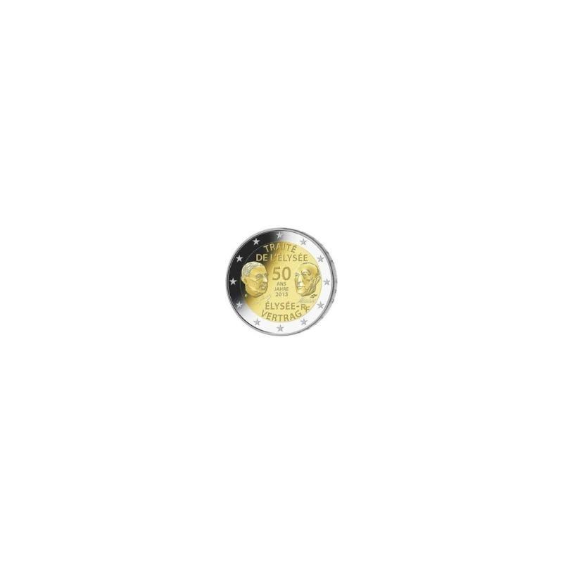 Moneda 2 euros conmemorativa. Francia 2013 Elyseo