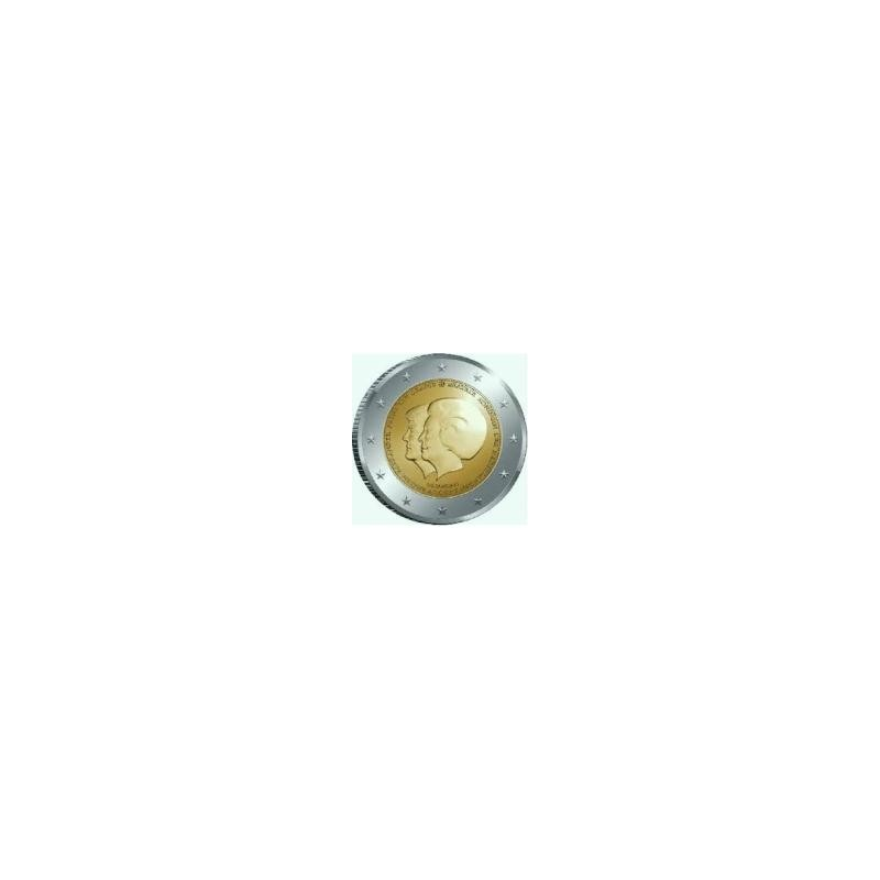 Moneda 2 euros conmemorativa. Holanda 2013