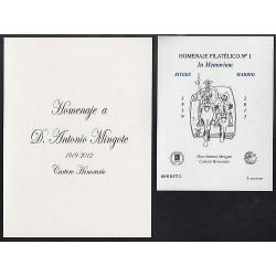 2012 Hoja Homenaje Filatelico (nº 8A)