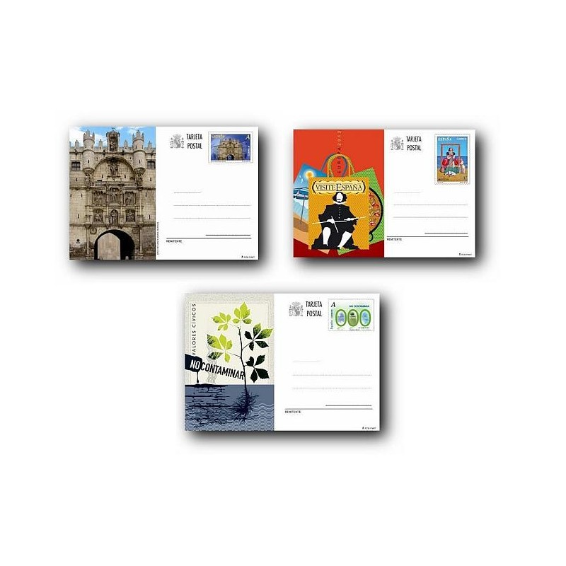 2012 España. Tarjetas Entero Postales - Emisiones del año **