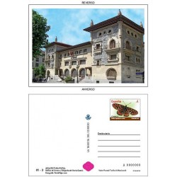 2010 España. La Tarjeta del Correo - Arquitectura Postal **