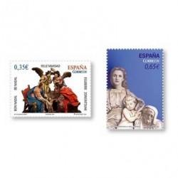 2011 Sellos de España (4675/76). Navidad