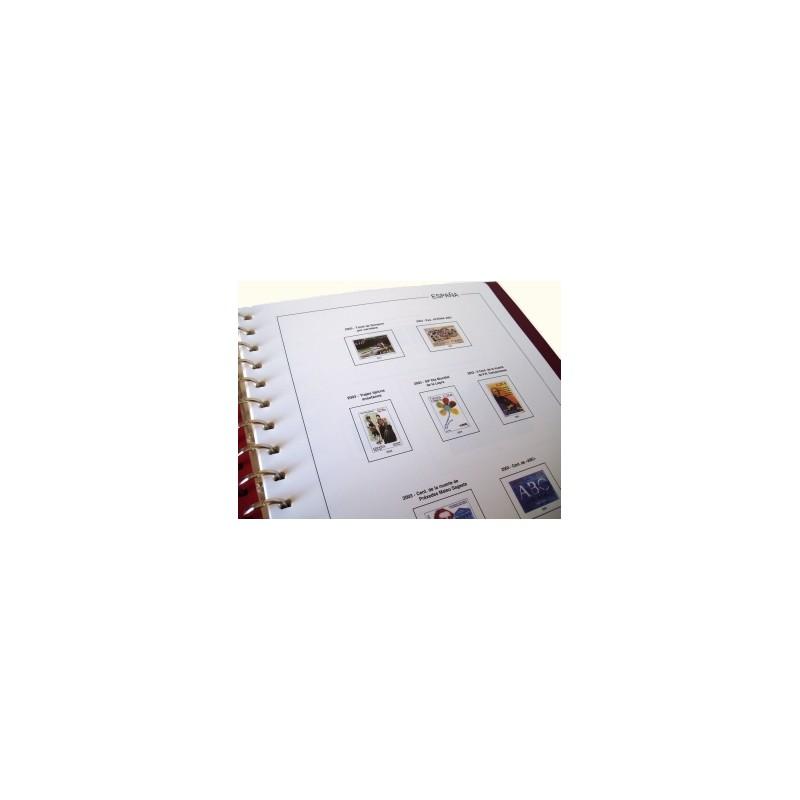 Suplemento Anual Edifil España 2013 Bloque de Cuatro