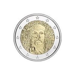 Moneda 2 euros conmemorativa. Finlandia 2013 Sillanpää