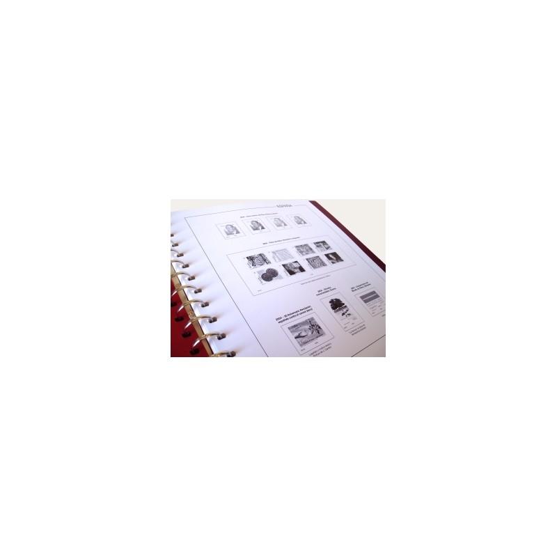 Suplemento Anual Manfil España Tarjetas Enteropostales 2013