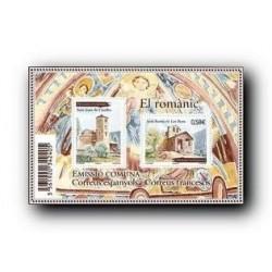 2010 Sellos Andorra correo Francés. Arte Románico **