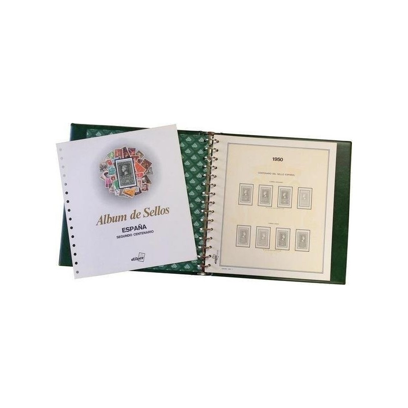 Álbum de sellos de España 2001/2005 (con filoestuches)