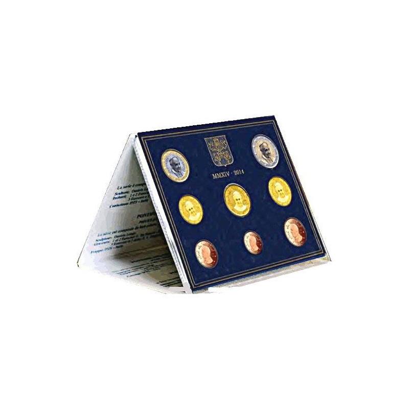 2014 Cartera oficial euroset Vaticano