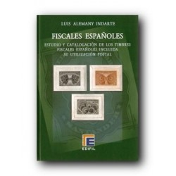 Catálogo de Sellos Edifil Fiscales Españoles