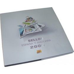 Álbum de sellos Correos España y Andorra 2005