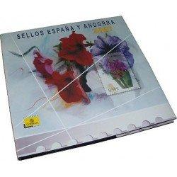 Álbum de sellos Correos España y Andorra 2007