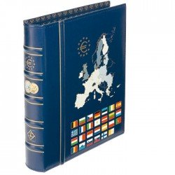 Álbum de Monedas Leuchtturm Optima Euro Classic