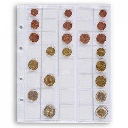 Hojas Leuchtturm OPTIMA EURO para monedas (5 unds.)