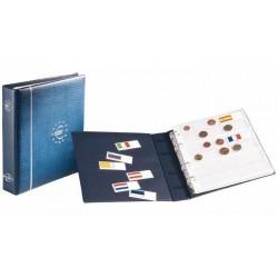 Álbum de Monedas Leuchtturm Numis Euro (con hojas)