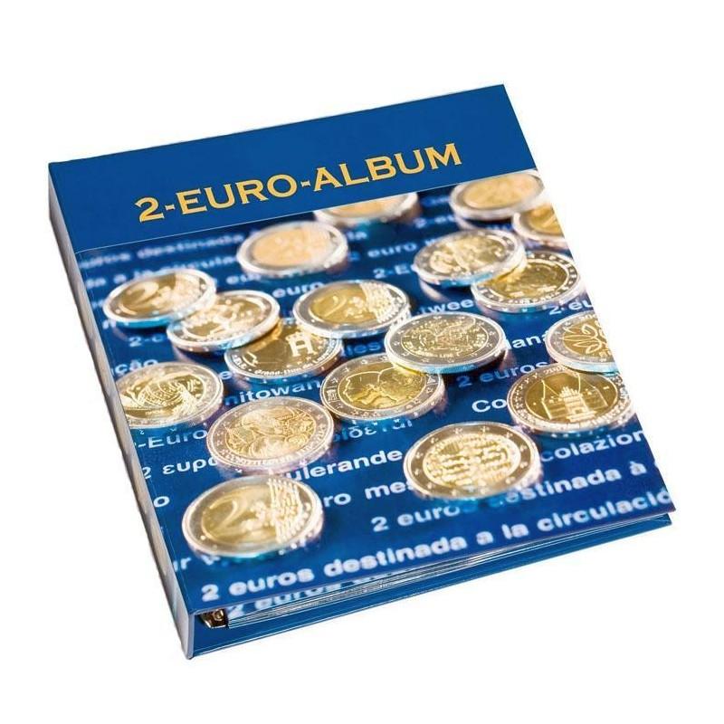 Álbum para conmemorativa de 2 euros Leuchtturm (tomo 1)