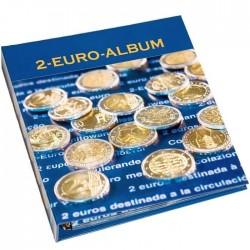 Álbum para conmemorativa de 2 euros Leuchtturm (tomo 2)