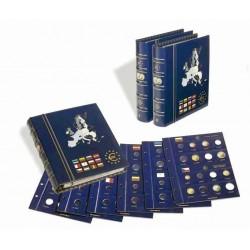 Álbum de Monedas Euro Vista 2 Leuchtturm (con hojas y cajetín)
