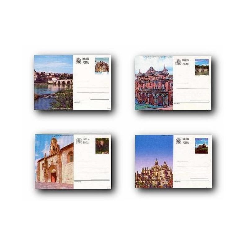 1997 España. Entero Postales Turismo (Edif.163/166)**