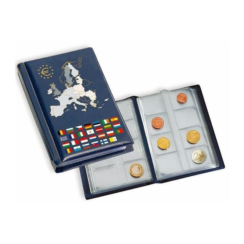 Album de bolsillo Leuchtturm para juegos de euro