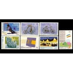 1998 Sellos de Andorra (Correo Español). Año Completo **