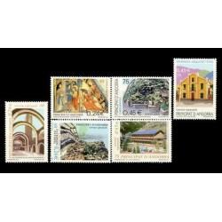 2001 Sellos de Andorra (Correo Español). Año Completo **